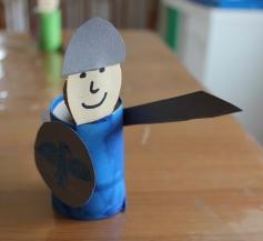 blauer Ritter